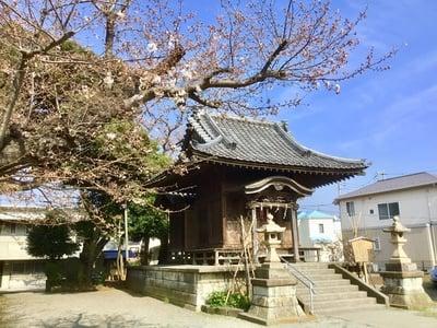神奈川県駒形天満宮の本殿