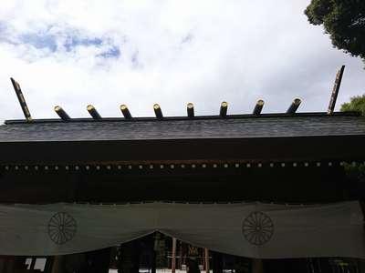 東京都阿佐ヶ谷神明宮の本殿