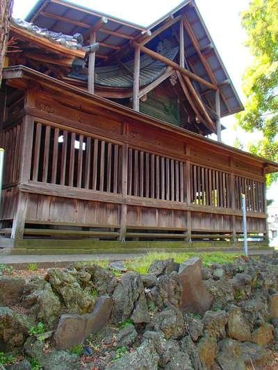 埼玉県天満宮の本殿