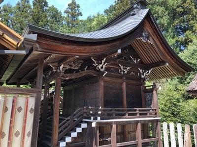 坂下八幡神社の本殿