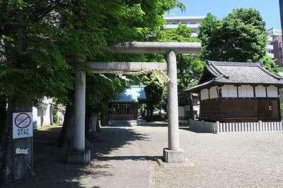 諏訪神社の近くの神社お寺|天祖神社