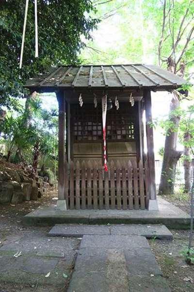 諏訪神社の近くの神社お寺|水稲荷神社