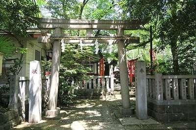 水稲荷神社の鳥居