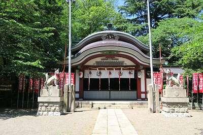 水稲荷神社の本殿