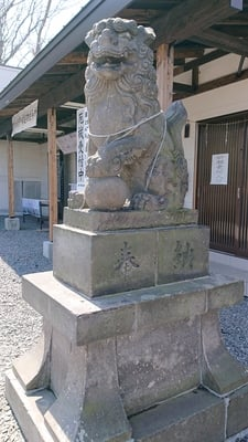 星置神社の狛犬