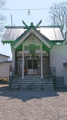 星置神社の本殿