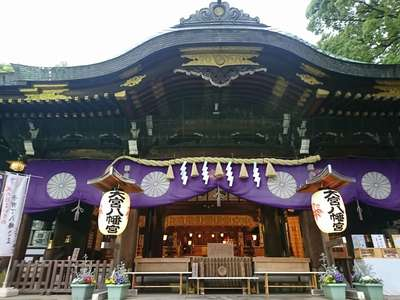 東京都大宮八幡宮の本殿
