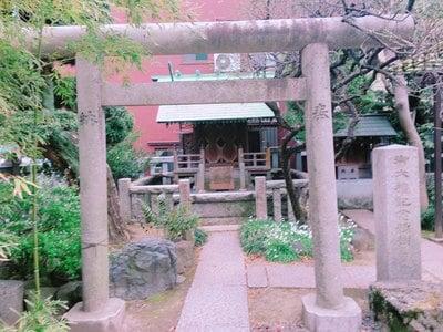 東京都住吉神社の鳥居