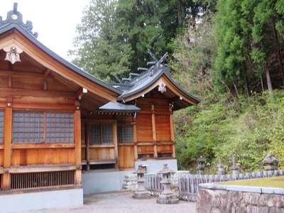 岐阜県村上神社の本殿