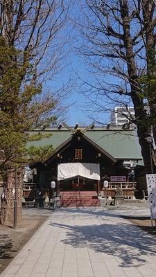 北海道北海道神宮頓宮の本殿