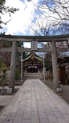 北海道弥彦神社(伊夜日子神社)の鳥居