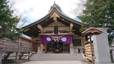 北海道弥彦神社(伊夜日子神社)の本殿