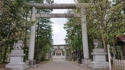 北海道岩見沢神社の鳥居