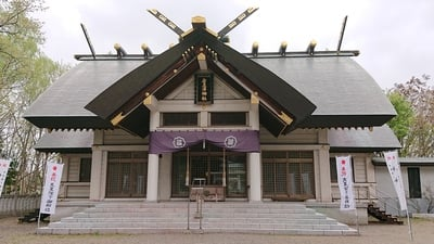 岩見沢神社の本殿