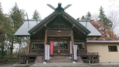 栗沢神社の本殿