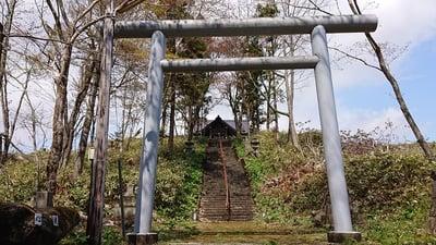 北海道御園神社の鳥居