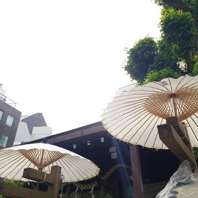 東京都太田姫稲荷神社の本殿