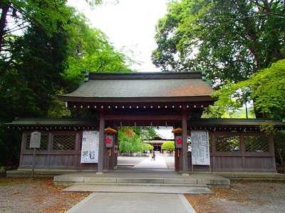 天神神社の山門