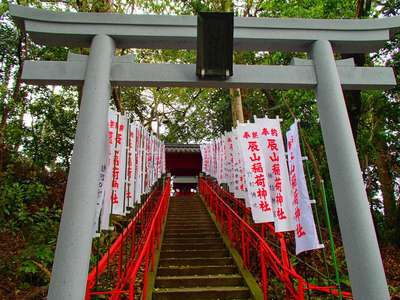 岐阜県天神神社の鳥居