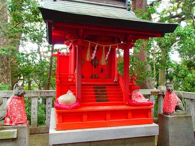 岐阜県天神神社の本殿