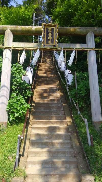 神奈川県思金神社の鳥居