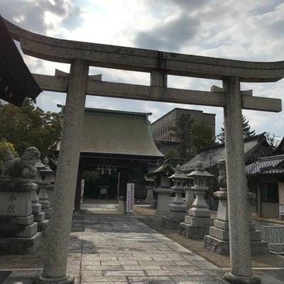 鳥取県賀茂神社天満宮の鳥居