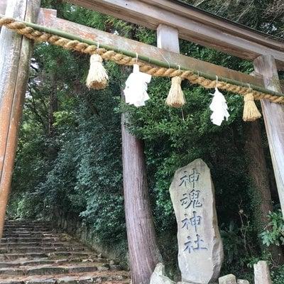 神魂神社の鳥居
