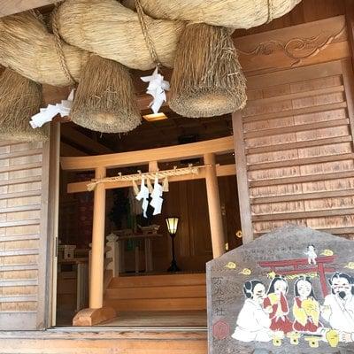 島根県万九千神社の本殿