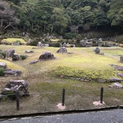 山口県常栄寺の庭園