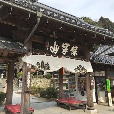 山口県瑠璃光寺の山門