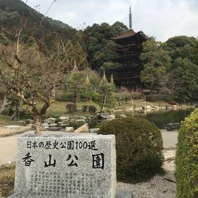 山口県瑠璃光寺の庭園