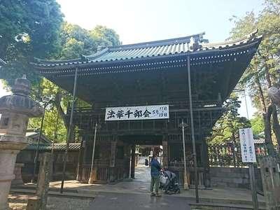 東京都妙法寺の山門