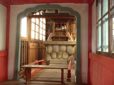 岐阜県天王坊稲荷神社の本殿