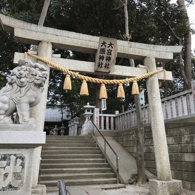 千葉県大宮・大原神社の鳥居