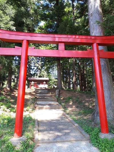 岩手県山神神社の鳥居