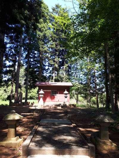 岩手県山神神社の本殿