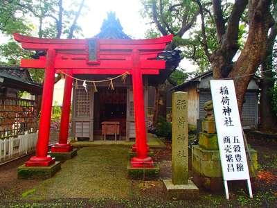 重蔵神社(石川県穴水駅) - 鳥居の写真