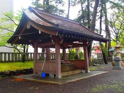 重蔵神社(石川県穴水駅) - 手水舎の写真