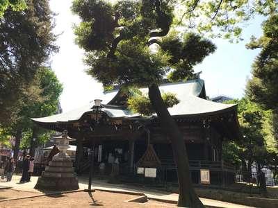 東京都鬼子母神堂の本殿