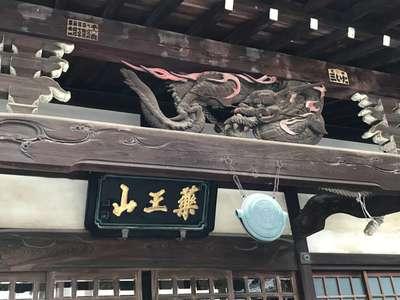 東京都善養寺の本殿