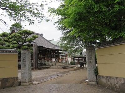 東京都新井薬師寺(梅照院)の山門
