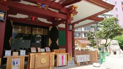 東京都蒲田八幡神社の本殿