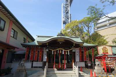甲子園素盞嗚神社の本殿