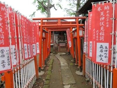 打越天神北野神社の末社
