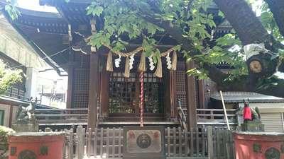柳森神社の本殿