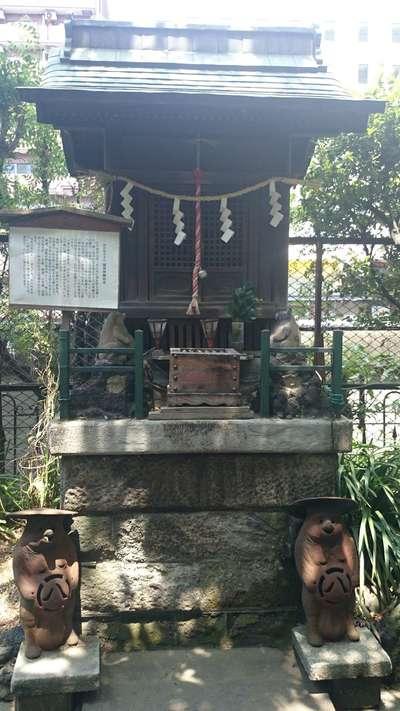柳森神社の末社