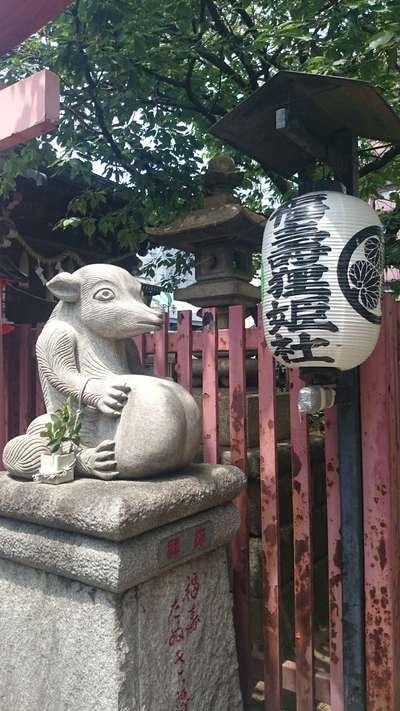 柳森神社の狛犬