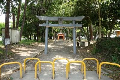 大阪府歩人山 稲荷神社の本殿