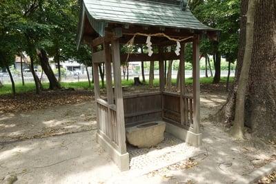 歩人山 稲荷神社の手水