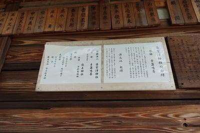 筑紫津神社の歴史
